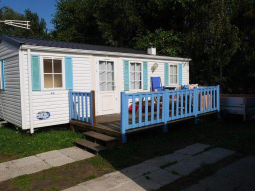 Gamme confort, capacité 4-6 personnes, 2 chambres + 1 canapé convertible