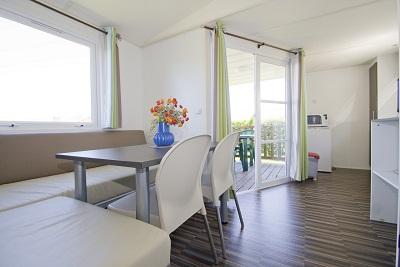 Gamme confort, capacité 2-4 personnes, 2 chambres